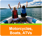 Motorcycles, Boats, ATVs