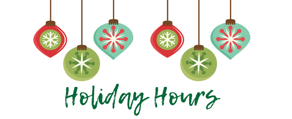 Christmas Hours.2018 Holiday Hours Thrive Credit Union